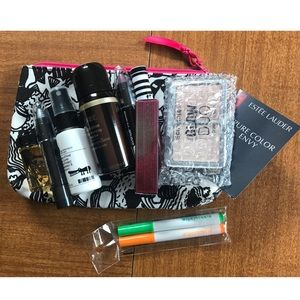 Other - 🦋 Beauty Sample Pack with Makeup bag 🦋
